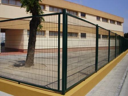 Cerramiento enmarcado colegio infantil Reyes Magos (Montilla – Córdoba)