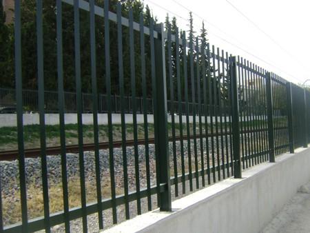 Vallado estación ferroviaria de Jaén