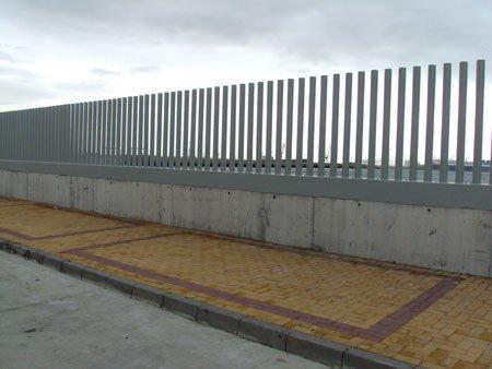 Cerramiento EXPO Puerto América (Cádiz)