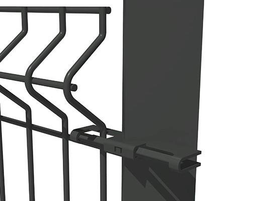 Clôture avec poteau IT Noumaplex