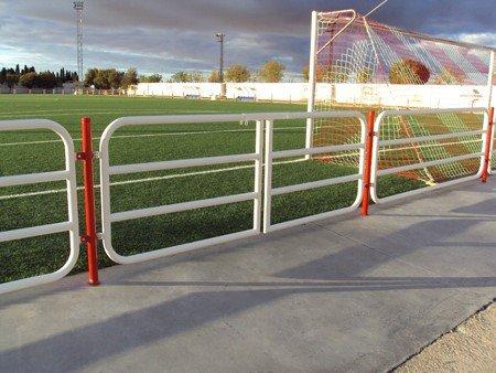 Cerramiento campo de fútbol Miguel Esteban (Toledo)