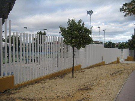 Cerramiento EXPO polideportivo de Tomares
