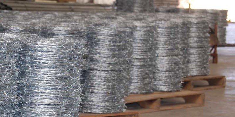 Fabricación alambre de espino