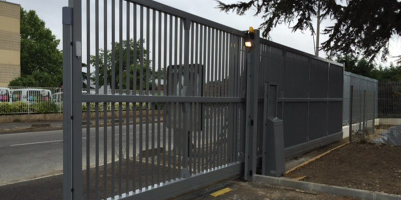 Industrial Metal Gates